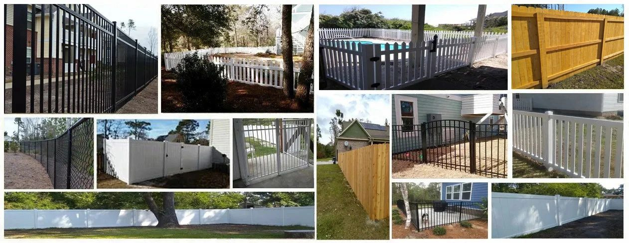 durable fence company wilmington nc aluminum vinyl chain link wood postmaster cedar rightwood plus g