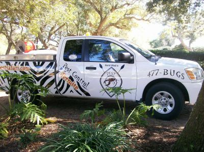 Pest Safari, the highest quality pest and termite control around Milton and Pensacola Florida