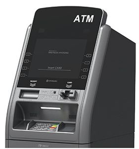 Hyosung Force 2800SE 2800 NH2800SE NH2800 EMV Chip Card Automated Teller Machine Retail ATM Cash Dispenser POP money All Point RFID ATM Cardless Cash Libertyx Bitcoin