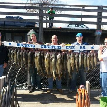 Lake Erie, PA Walleye Charter