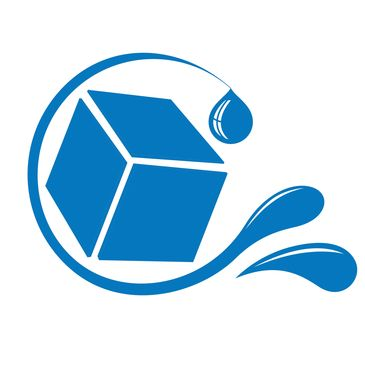 My Water Cube Logo - AAAH Water and Health, LLC