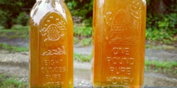 Pure Raw, Unfiltered Local Honey
