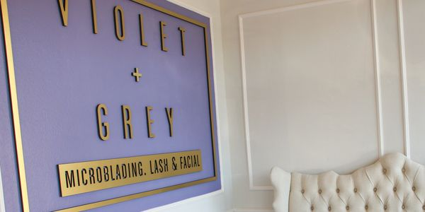 Violet & Grey is your one-stop-shop for all thing skincare, facials, lashes and micro-blading.