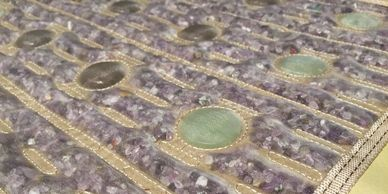 Healing infrared therapy mat (PEMF) NEGATIVE IONS  Amethyst Jade Tourmaline Deep FIR Heat Therapy