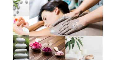 spa relaxation massage therapy face masks heat and ice therapy luxury experience