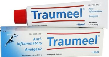 relief of muscular pain, inflammation, sports injuries and bruising Heel Traumeel Ointment