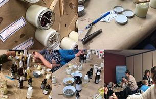 Candle Making Workshop  Saturday June 1st, 11am-1pm Lunch & Refreshments Include $75.00 + hst