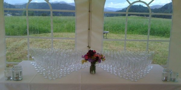 Scotland Perthshire Catering Glass Hire Gourlay Events