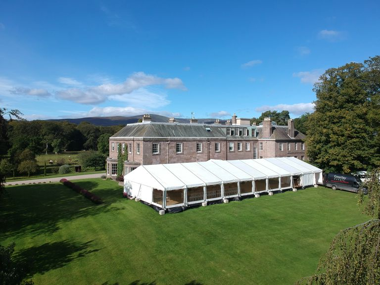 Gourlay Events Marquee Scotland Tent Catering Wedding