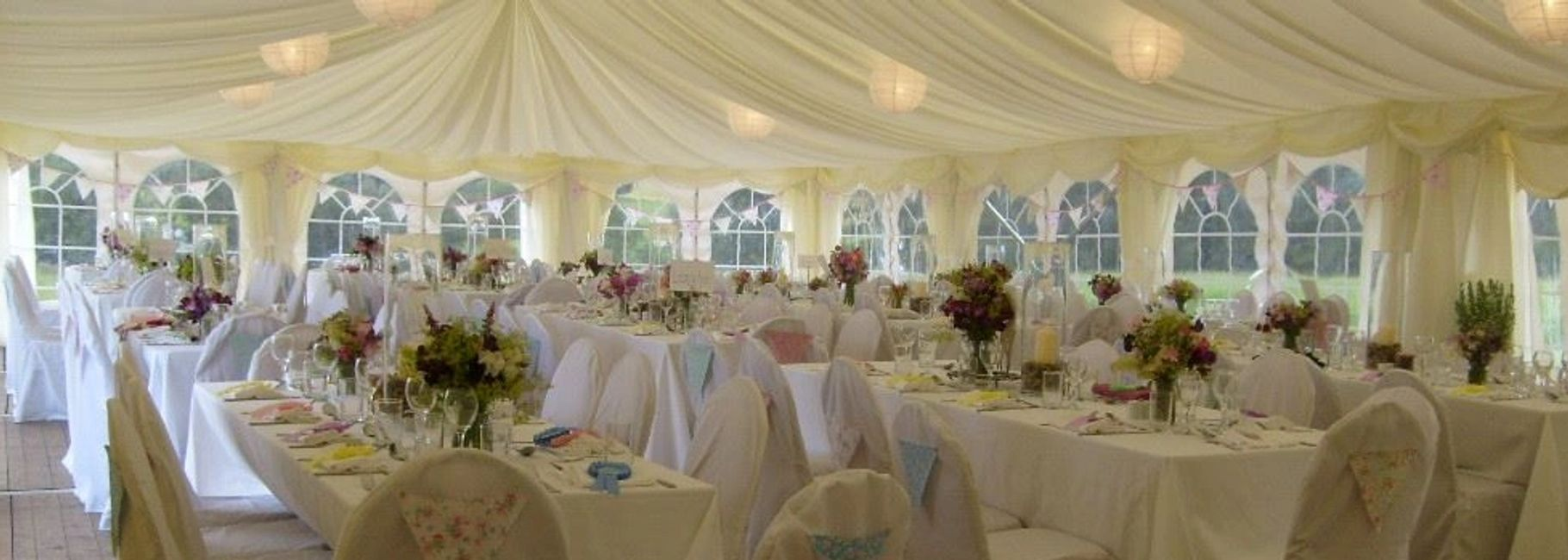 Scotland Perthshire wedding catering marquee gourlay events