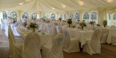 Scotland perthshire wedding formal catering marquee Gourlay Events
