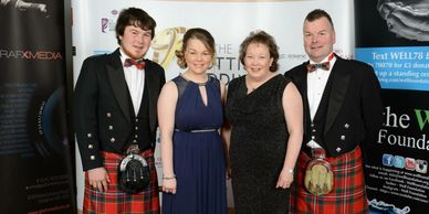 Scotland Perthshire award winning catering marquees family run business Gourlay Events