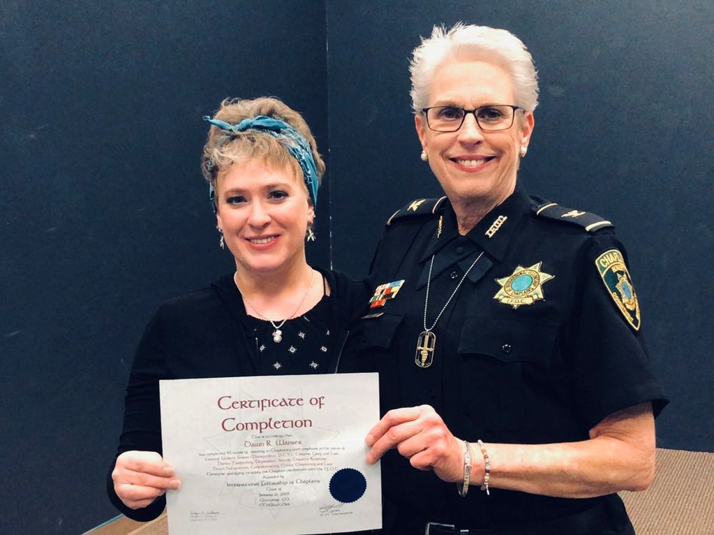 Dawn Wanser received her Chaplaincy License in March of 2019 through the International Fellowship of