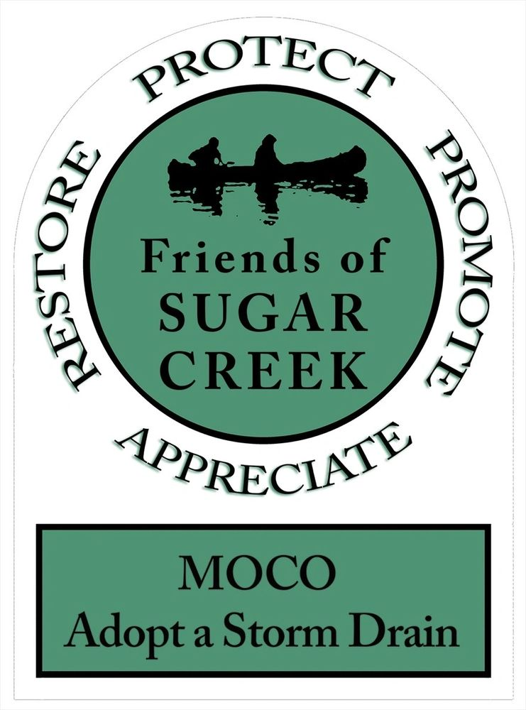 MOCO Adopt a Storm Drain, a sponsored by Friends of Sugar Creek and Crawfordsville Storm Water.