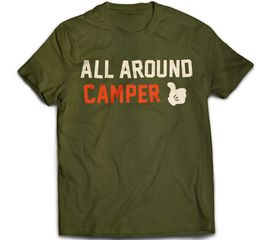 Bunk Captain - All Around Camper - T-Shirt
