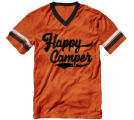 Bunk Captain - Vintage Happy Camper - T-Shirt