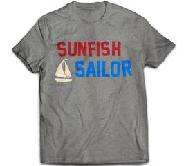 Bunk Captain - Sunfish Sailor - T-Shirt