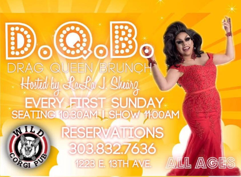 Drag Queen Brunch with Lala Shearz Sunday