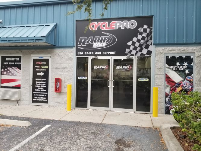 Cycle Pro Orlando and Rapid Bike USA location