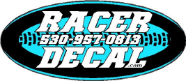 Racer Decal