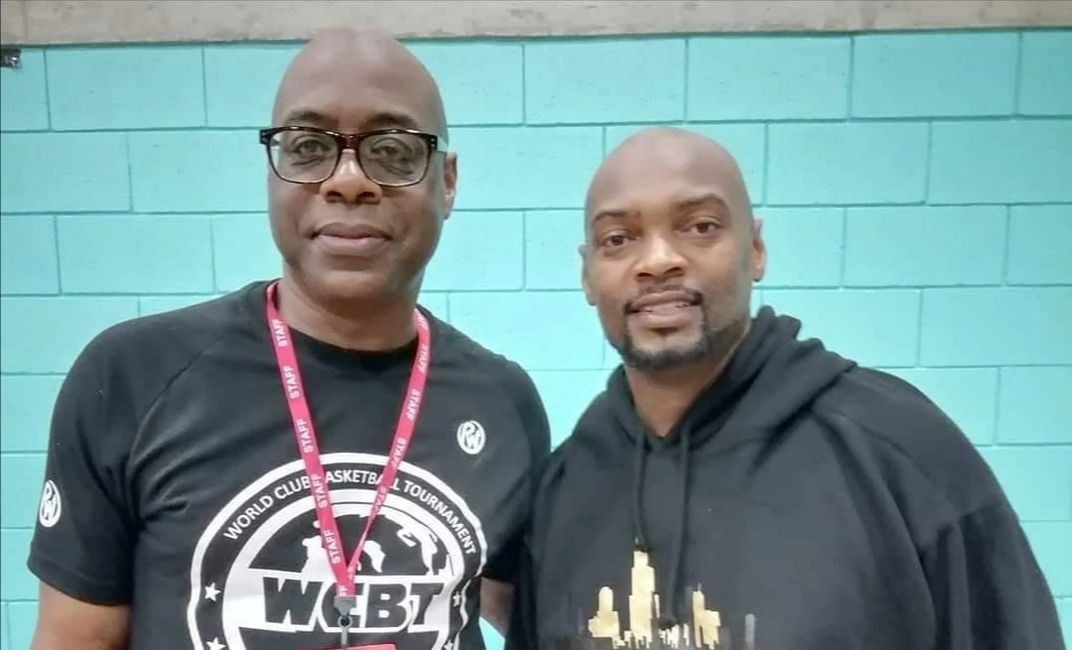 Eric Douglin Founder of the World Club Basketball Tournament & Aramus Brown, MBL President,