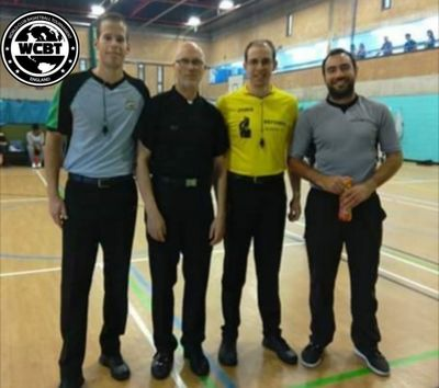 We welcome WCBT referees from around Europe.