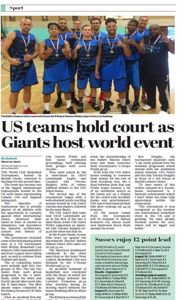 The World Club Basketball Tournament provides exposure for teams around the world.