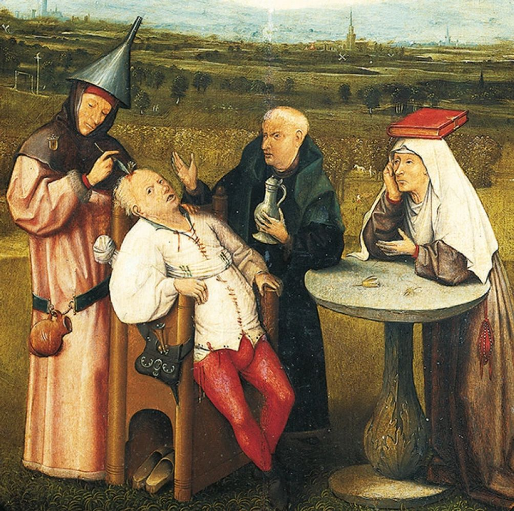 The Extraction of the Stone of Madness (painting by Hieronymus Bosch circa 1494 or later)