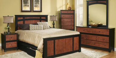 Country Retreat Complimenting Style  Bedroom Set