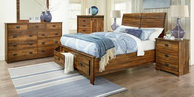 Ontario Rustic Charm Bedroom Set