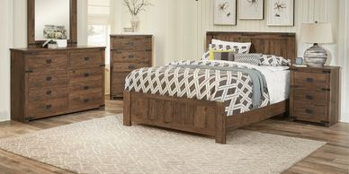 Walker Casually Rugged Bedroom Set