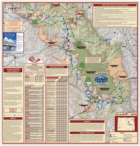 snowmobile maps of the bighorn mountains