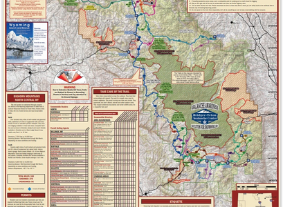 snowmobile maps in the bighorn mountains