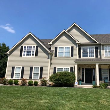 Stucco repair and siding installation in West Chester Chester County Delaware and Newtown Square