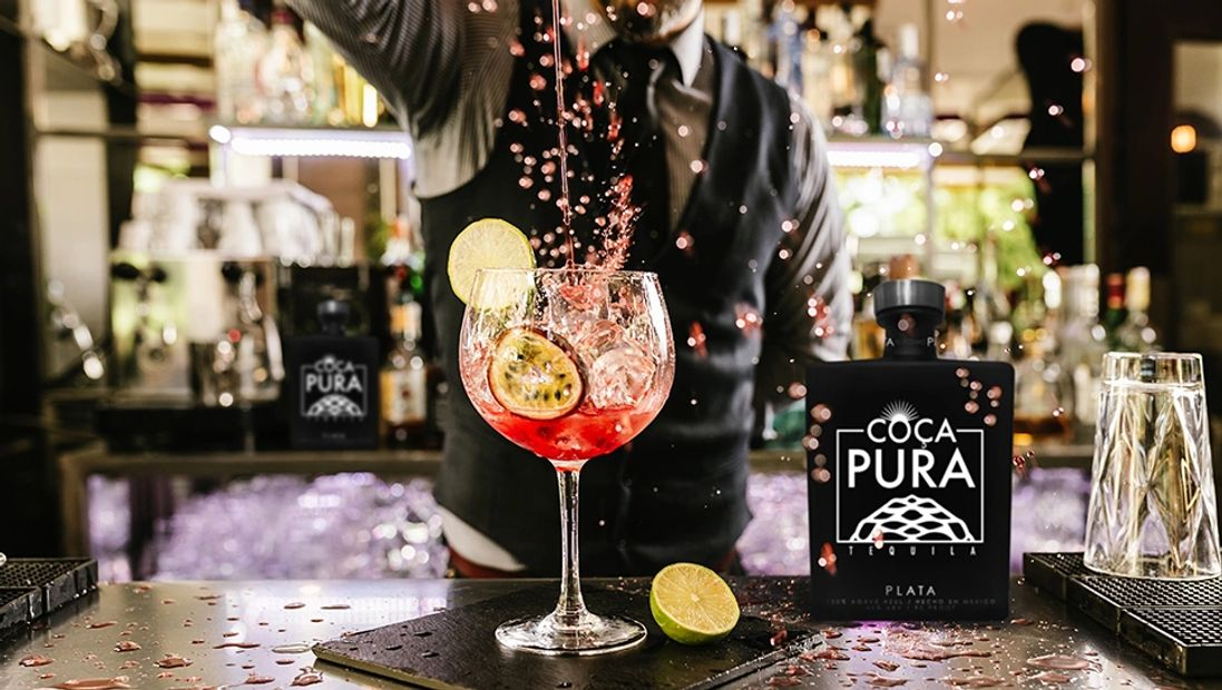 Mixologist experience with COCA PURA TEQUILA