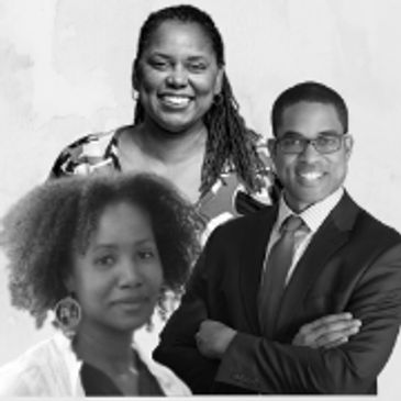Collage of headshots: Dr. Carlotta Berry, Dr. Audrey Bowden, and Dr. Cullen Buie