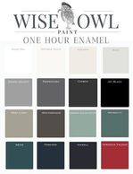 All of Wise Owl colors are available in OHE in gallon sizes. Please call with special orders.