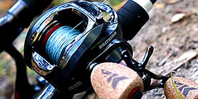 KastKing braided fishing line.