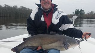 Neuse River catfish guided trips