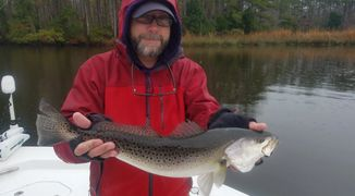 fall speckled seatrout charters NC