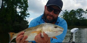 Neuse River redfish on Dubiel's Pop N Fly