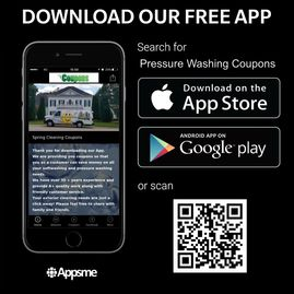 Pressure Washing Coupons App