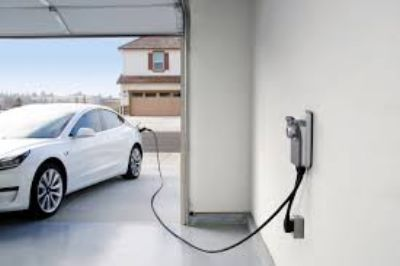 Electric Vehicle Charger Install Image https://callteamelectric.com/electric-vehicle-charger