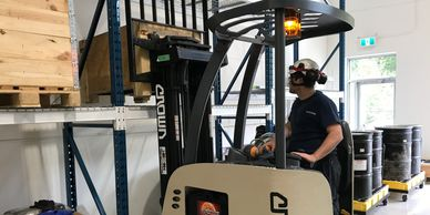 Narrow Aisle Forklift Training (Class 2) Kelowna