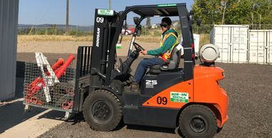 Counter Balanced  Forklift Training (Class 4)  Kelowna