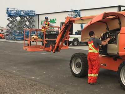 Aerial Work Platforms Training in Kelowna. Elevated Work Platforms training in Kelowna, BC