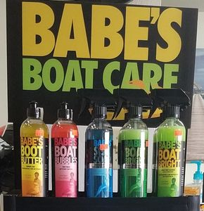 We carry a wide range of Babe's Boat care products from Boat Butter to Mildew Master.
