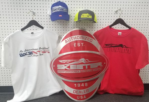 Stop in today and get your  Skeeter Swag!