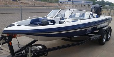 Skeeter Boats SL 210 fish and ski Yamaha 200 SHO