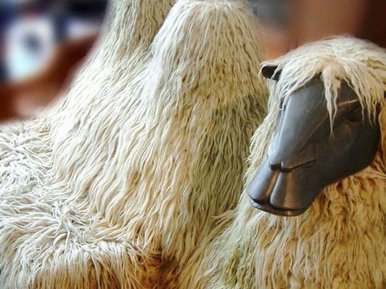 Francois-Xavier Lalanne Camel | 1973 |France | Bronze & Llama Wool | SOLD